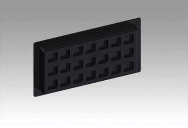 Crawl Space Recessed Vent Cover - seals, closes or encapsulates the crawl space