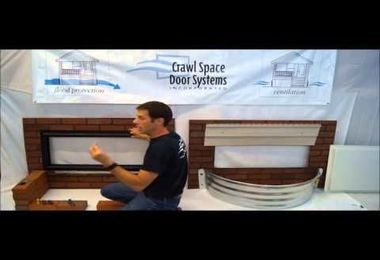 Crawl Space Door Systems, Inc. - Brick Well Install