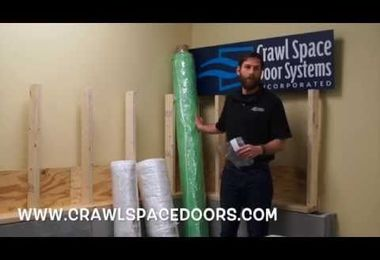 Crawl Space Door Systems Vapor Barrier