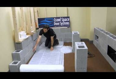 Vapor Barrier Training | Crawl Space Door Systems