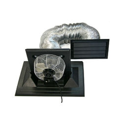 Shop Crawl Space Exhaust Fan System