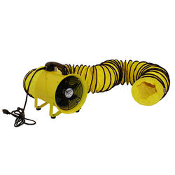 Shop 12-Inch Cylinder Fan with 20' Vinyl Hose