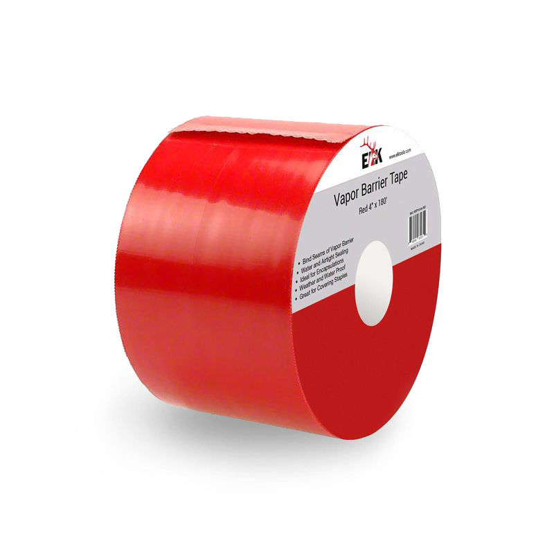 "Heavy Duty Vapor Barrier Seam Tape (4"" Red)"