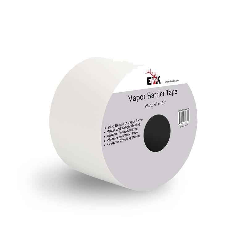 "Heavy Duty Vapor Barrier Seam Tape (4"" White)"