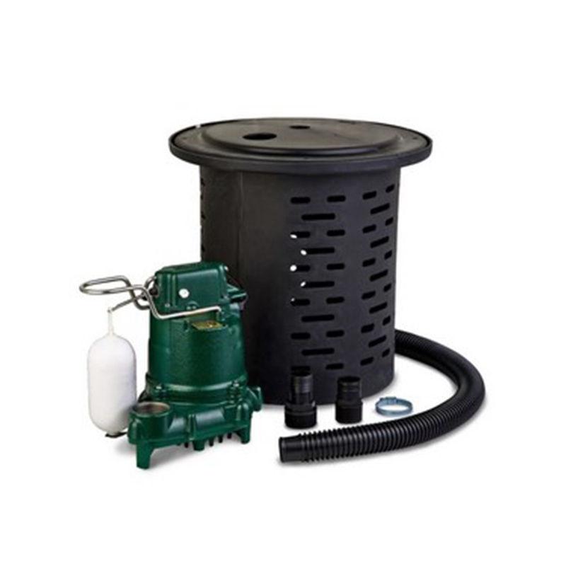 Zoeller M53 Sump Pump Kit Crawl Space Door Store